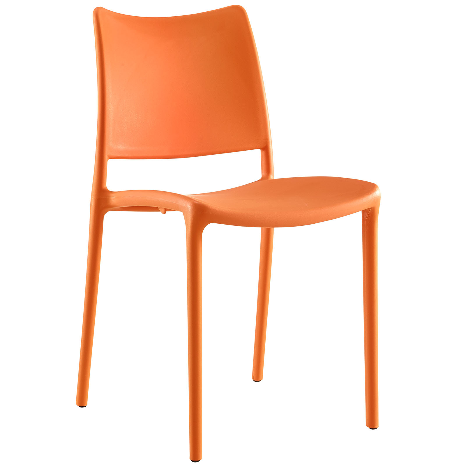 Orange Dining Chairs: Hipster Dining Side Chair In Orange