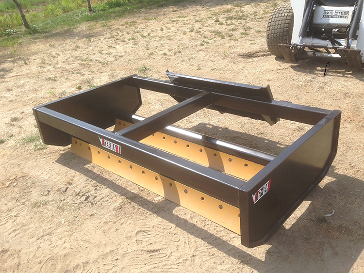 GRADER ATTACHMENT FOR Bobcat & All Quick Attach Skid Steer Loaders