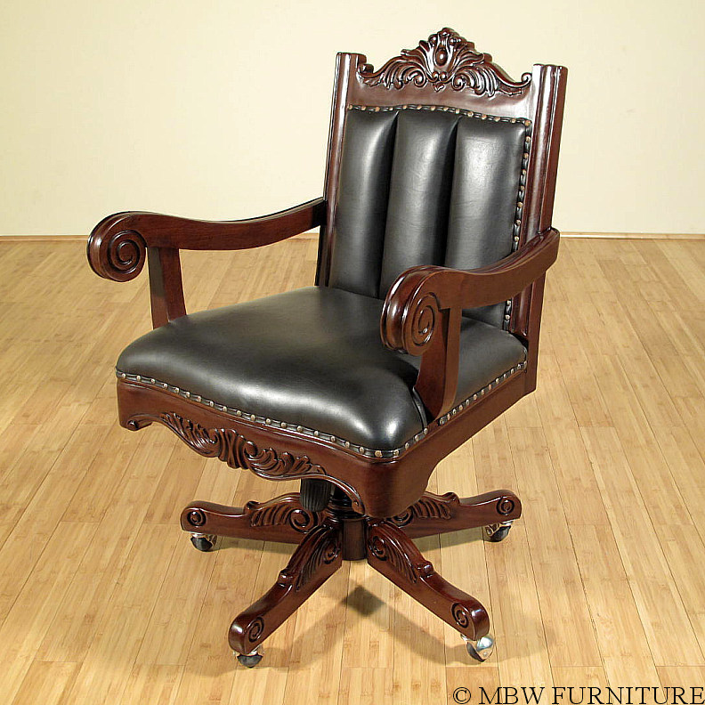 black leather oversized chair walnut leather swivel oversized executive office chair ebay 11220 | MBWJSDR52 41R WJFNC 30358