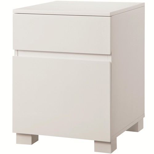 white lacquer file cabinet gloss white file cabinet with 2 drawers ebay 29082