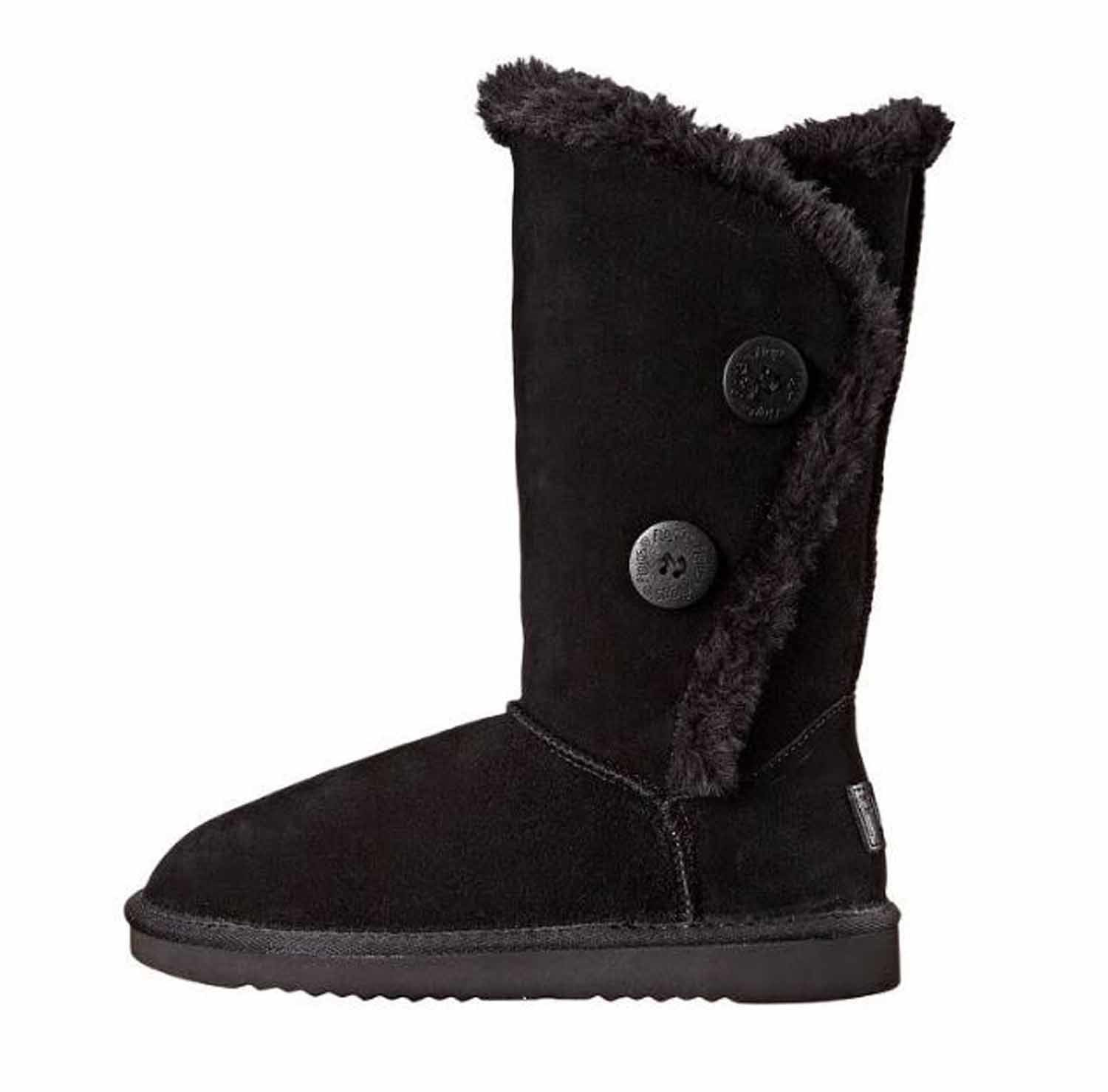 Women's Two-Button Winter Boot