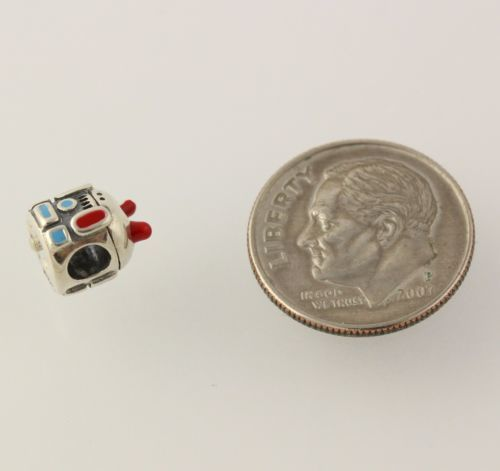 NEW Miss Chamilia Charm Sterling Silver Girlbot Retired Kids Bead