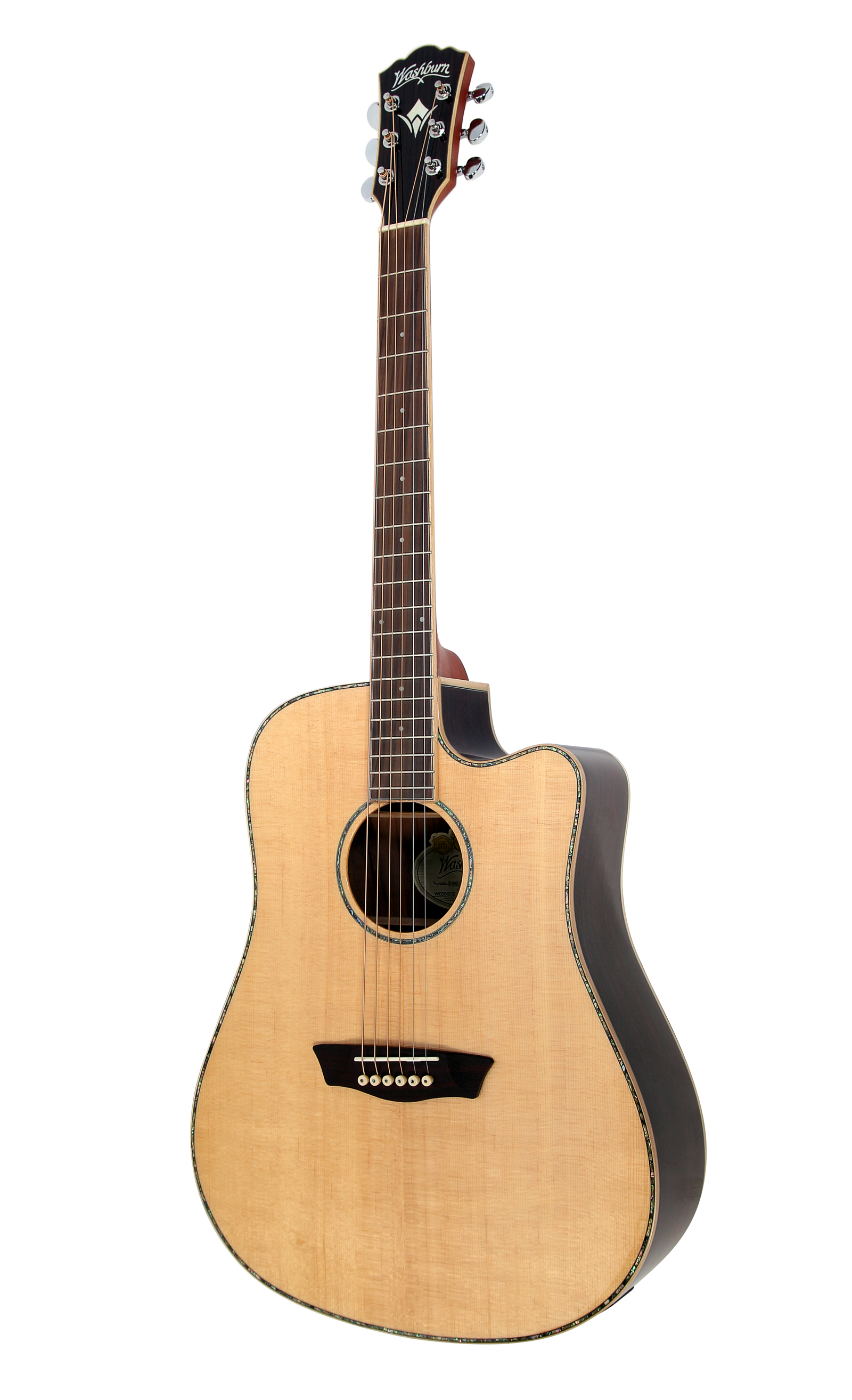 washburn wd25 series wd25sce acoustic electric guitar with deluxe hardshell case ebay. Black Bedroom Furniture Sets. Home Design Ideas