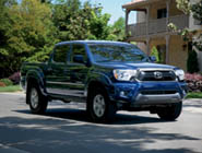 2014 Tacoma Double Cab V6 shown in Nautical Blue Metallic