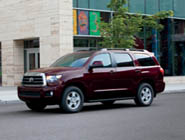 2014 Sequoia SR5 in Sizzling Crimson Mica