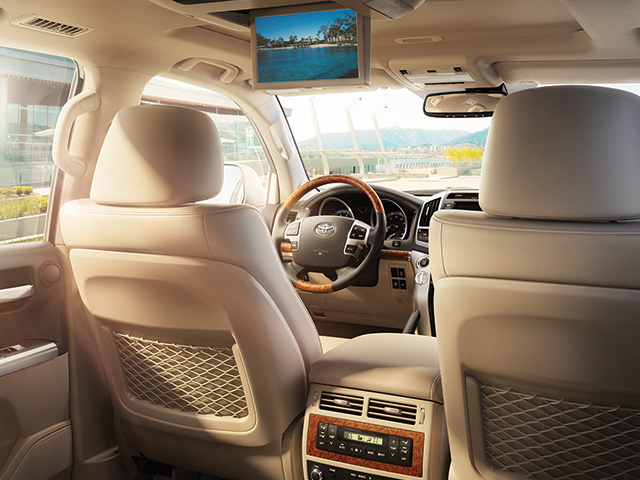 2014 Land Cruiser Interior