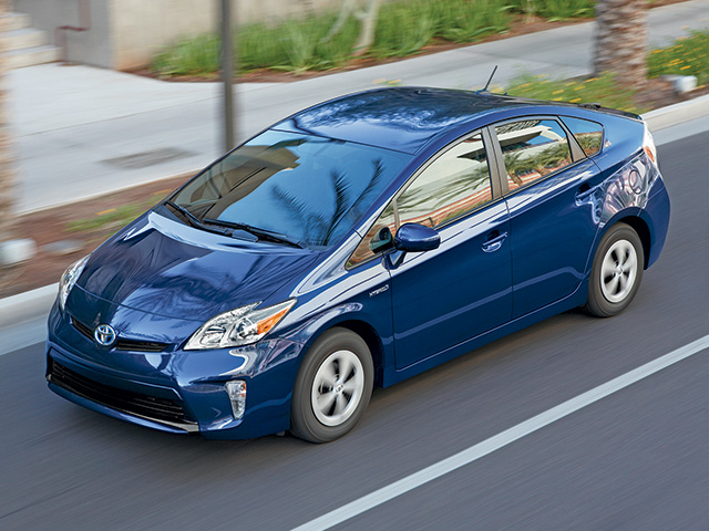 2014 Prius in Nautical Blue Metallic