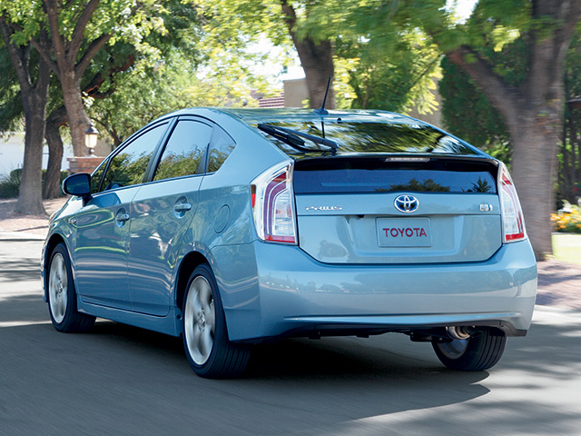 2014 Prius en Sea Glass Pearl
