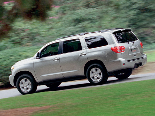 2012 Sequoia en Silver Sky Metallic