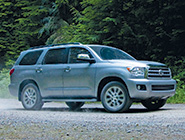 2012 Sequoia Limited en Silver Sky Metallic