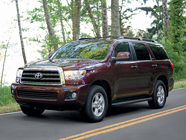 2014 Sequoia in Sizzling Crimson Mica