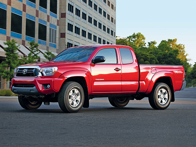 2014 Tacoma in Barcelona Red Metallic
