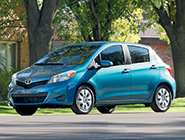 2014 Yaris 5-Door in Lagoon Blue