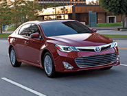 2014 Avalon Hybrid Touring in Red