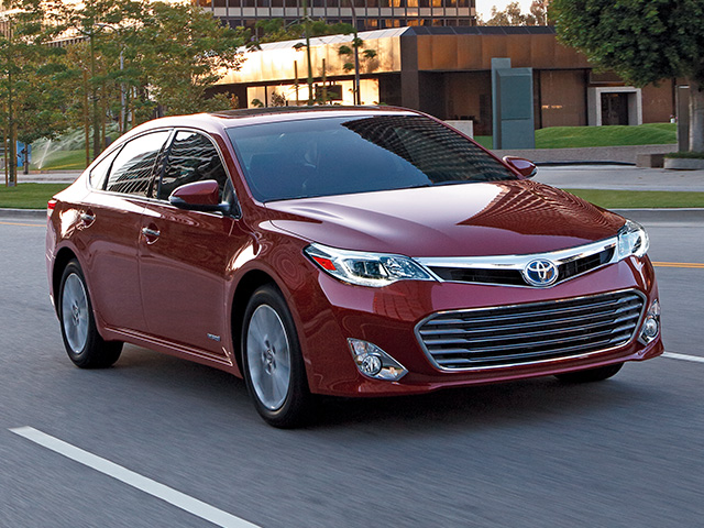Avalon Hybrid Touring in Red
