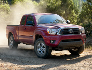 2014 Tacoma 4X4 Double Cab V6 in Barcelona Red Metallic