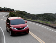 2014 Sienna LE in Salsa Red Pearl