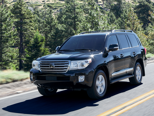 2015 Land Cruiser in Black