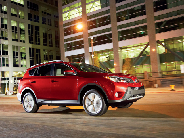 2014 RAV4 Limited in Barcelona Red Metallic