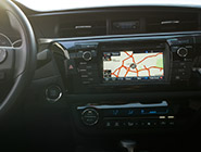 2014 Corolla - Entune™ Premium Audio with Navigation and App Suite