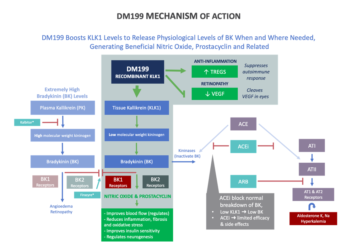 DM199 Mechanism of Action