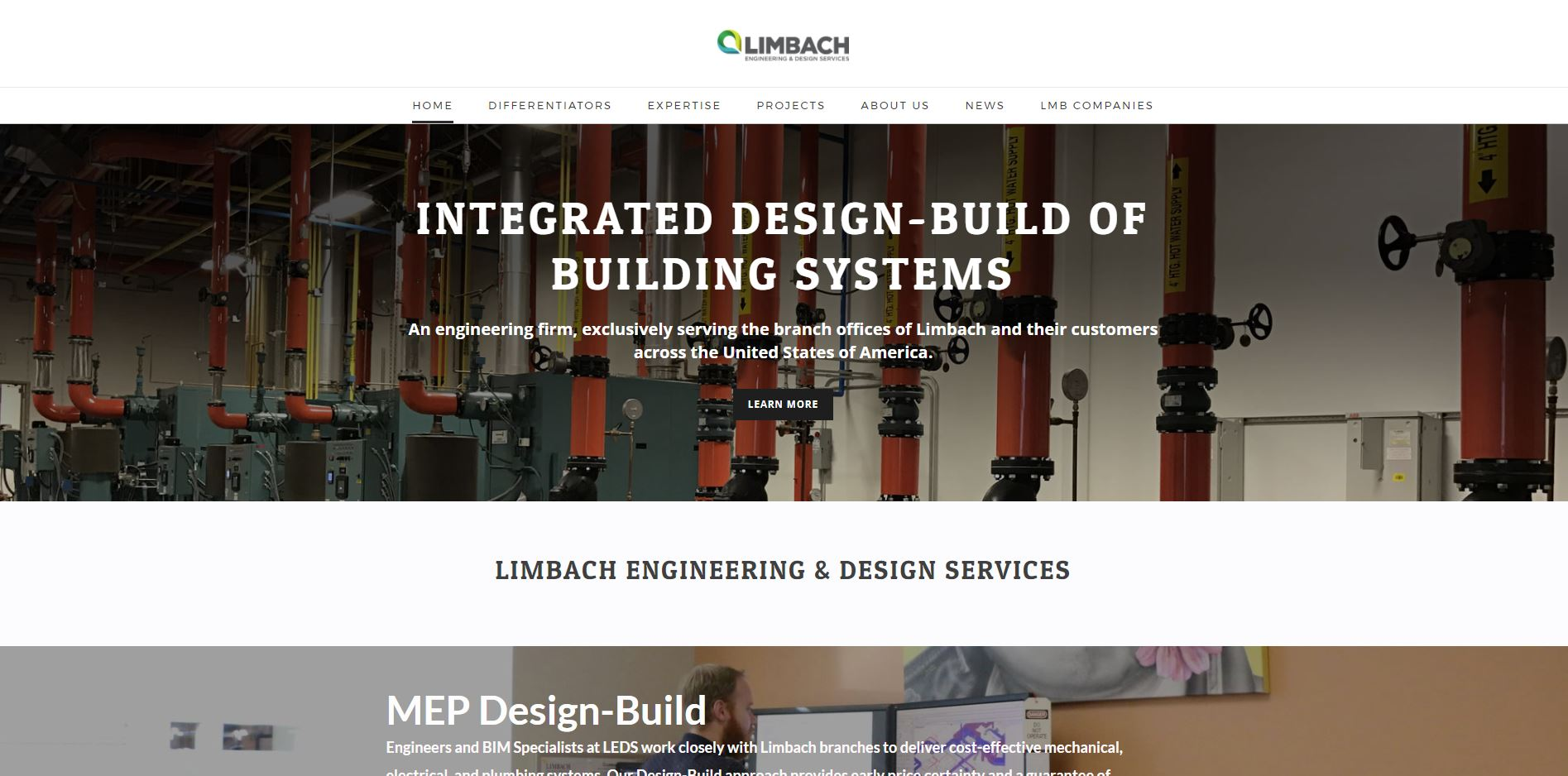Limbach Engineering Design Services Launches Dedicated Website Limbach Holdings Inc Lmb