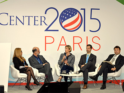 Letitia Webster, Vice President, Global Corporate Sustainability, 2015 UNFCC Conference of the Parties, Paris