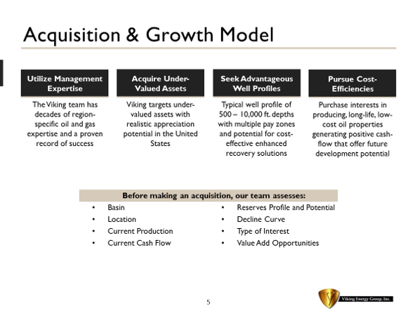Acquisition and Growth Model