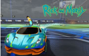 Rocket League - Rick and Morty
