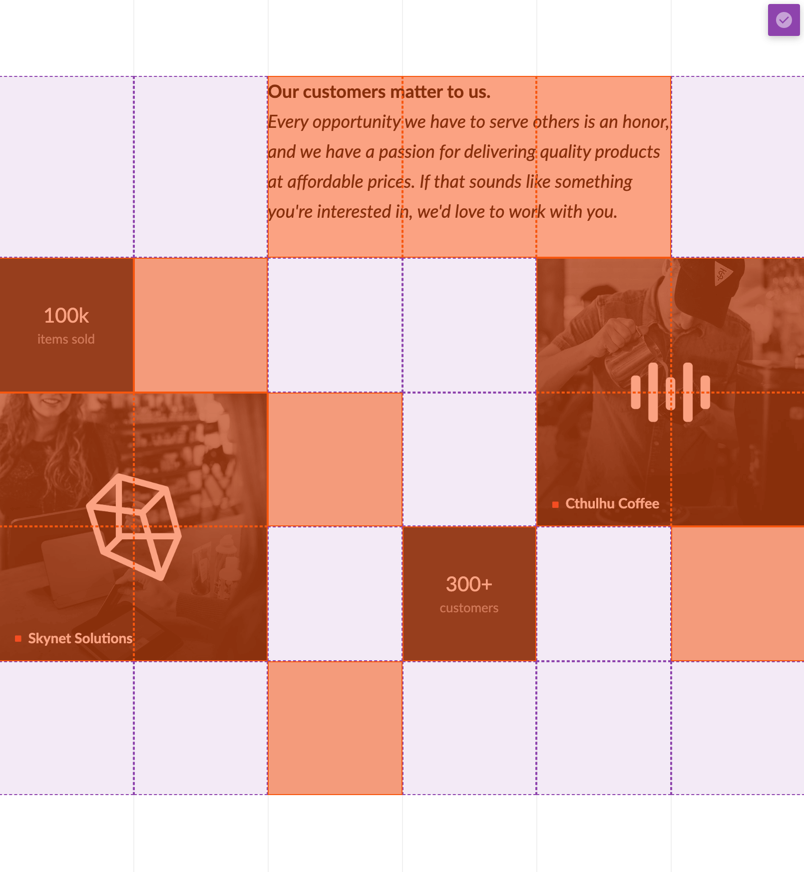 Responsive Layout Example