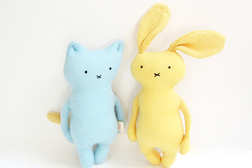 kids cat and bunny