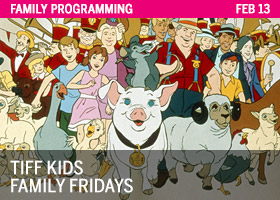TIFF Kids Family Fridays