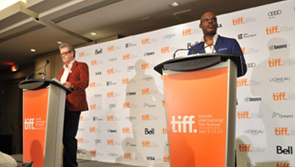 TIFF Programmers on stage