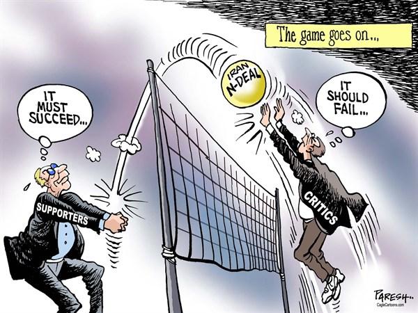 Afbeeldingsresultaat voor trump en Iran cartoon