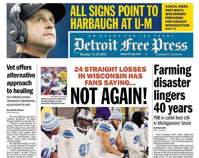 detroit free press sports