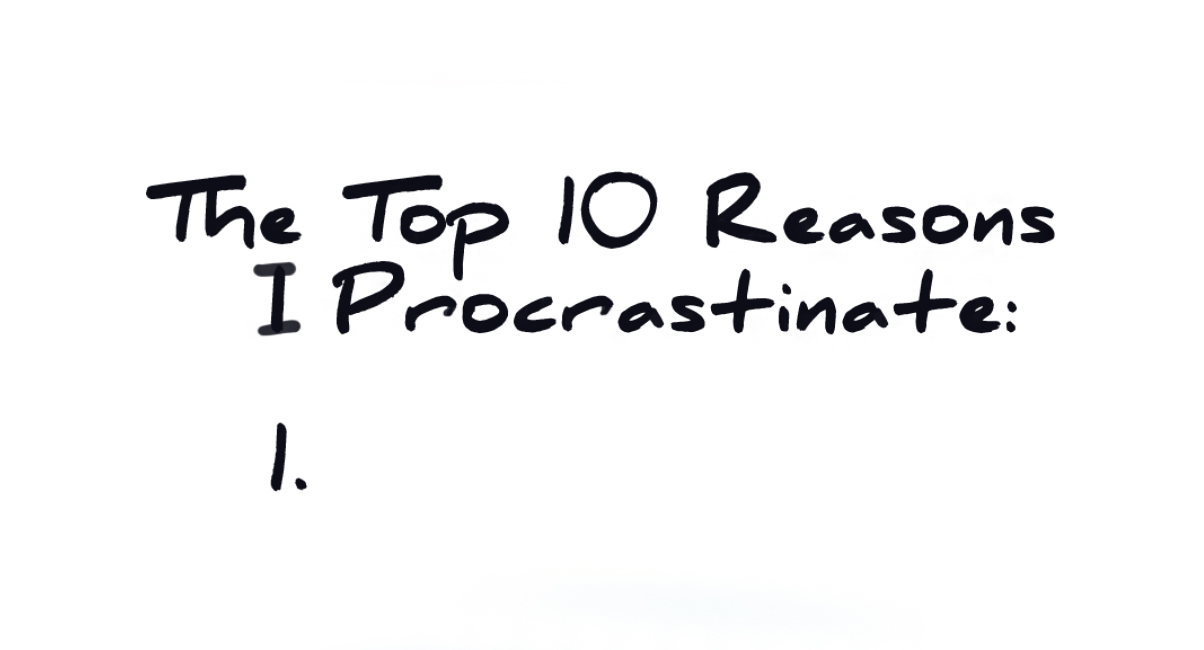 Overcoming Procrastination: Planning and Organization (Part I of II)