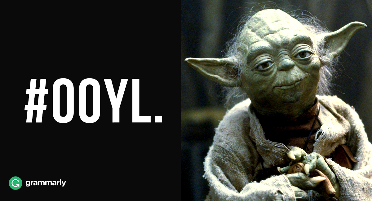 Yoda Takes on Hashtags