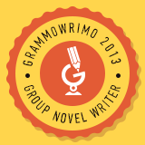 I'm a #GrammoWriMo Writer