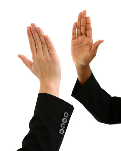 National High Five Day: High Fives for Writers