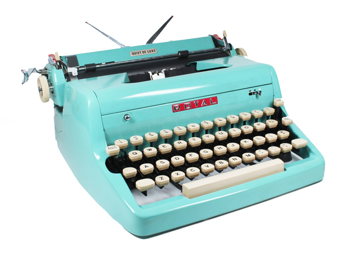 typewriter, grammar rules, Grammarly, writing