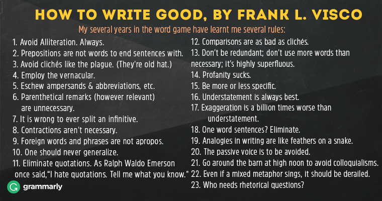 HOW-TO-WRITE-GOOD,-BY-FRANK-L.-VISCO