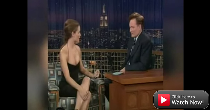 Jennifer Garner and Conan argue sneaked and snuck grammar.