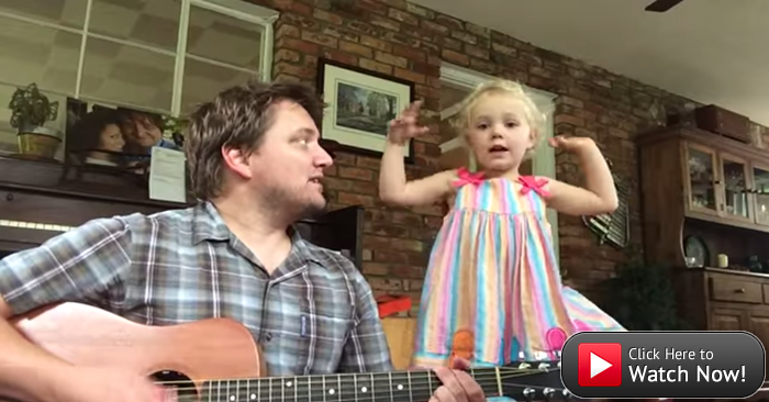 Your Sunday dose of cute: Daddy-daughter duo take on a classic children's song