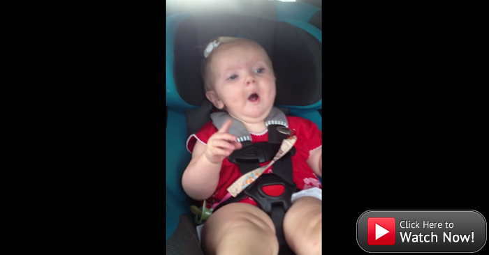 #SundaySmile: This little girl has just about had it, but then her jam comes on.