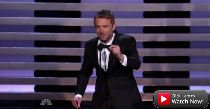 At the Emmys, Chris Hardwick Schools Internet Trolls in Grammar