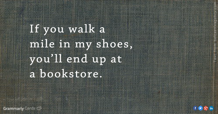 How to empathize with a bookworm