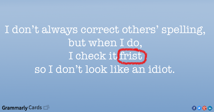 5 Words You Should Start Spelling Correctly