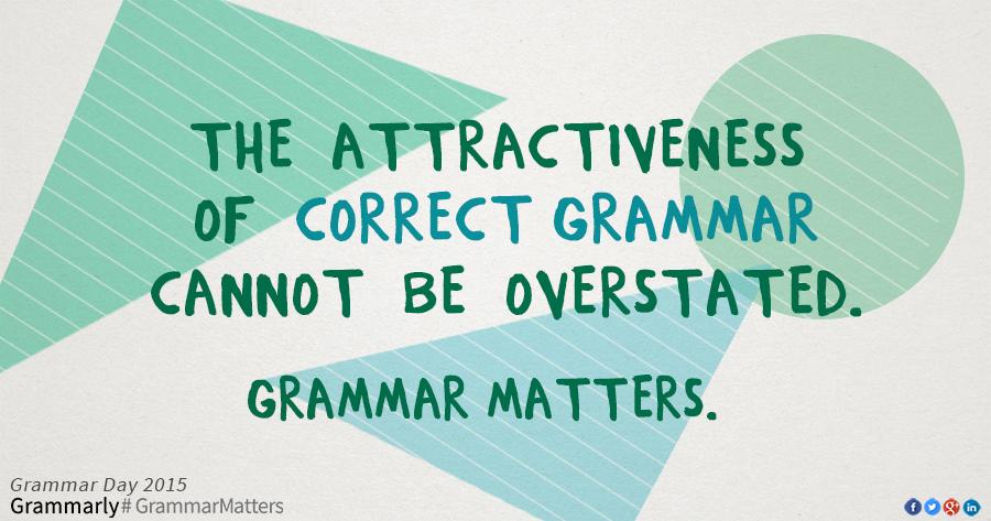 Grammatical correct