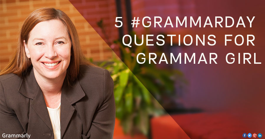 Q&A with Grammar Girl, Mignon Fogarty