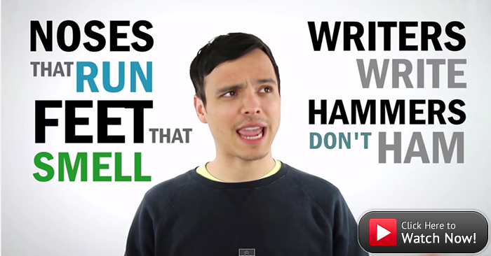 Everything crazy about English in less than 2 minutes!